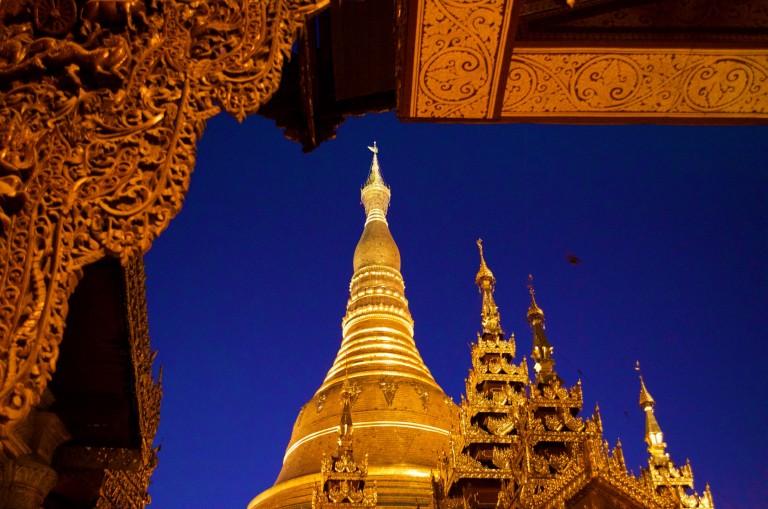 Lippenmuskelkater in Yangon