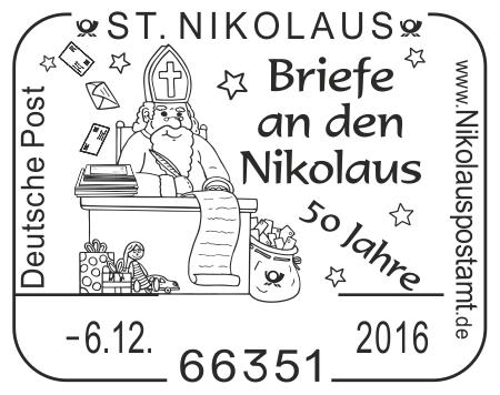 Nikolaus am Fluss