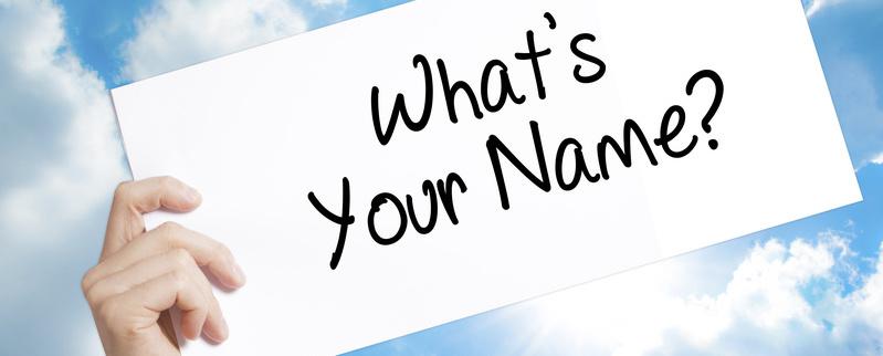 """""""Ich trage Deinen Namen …"""