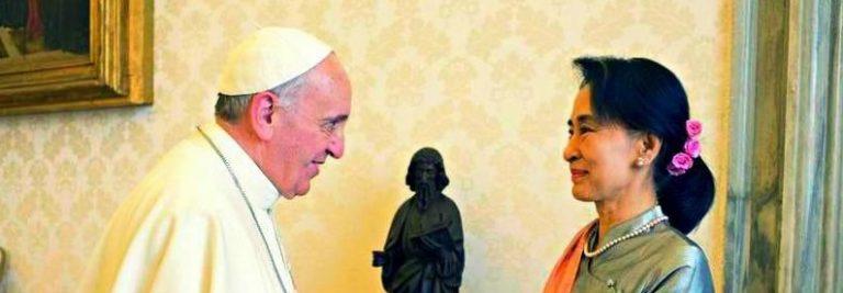 Der Papst kommt nach Burma