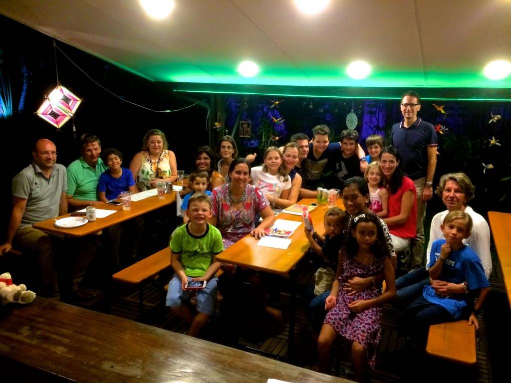 Erster Eltern-Kinder-Koki-Abend