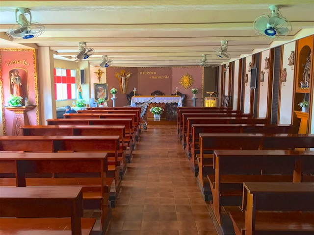 Neuer Gottesdienstort: Kapelle Camillian Hospital