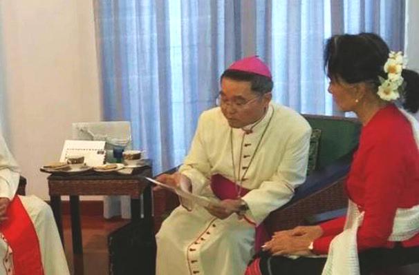 Vatikanische Vertretung in Yangon