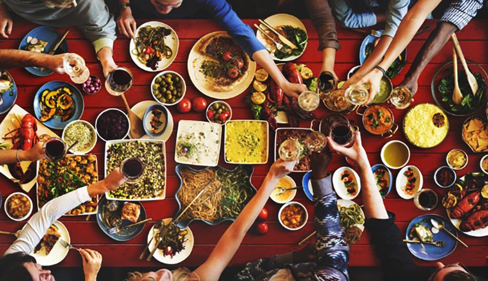 Dinner à la Bibel