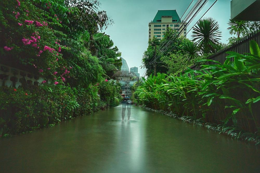 Bangkok versinkt