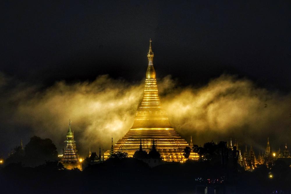 Gute Wünsche nach Myanmar