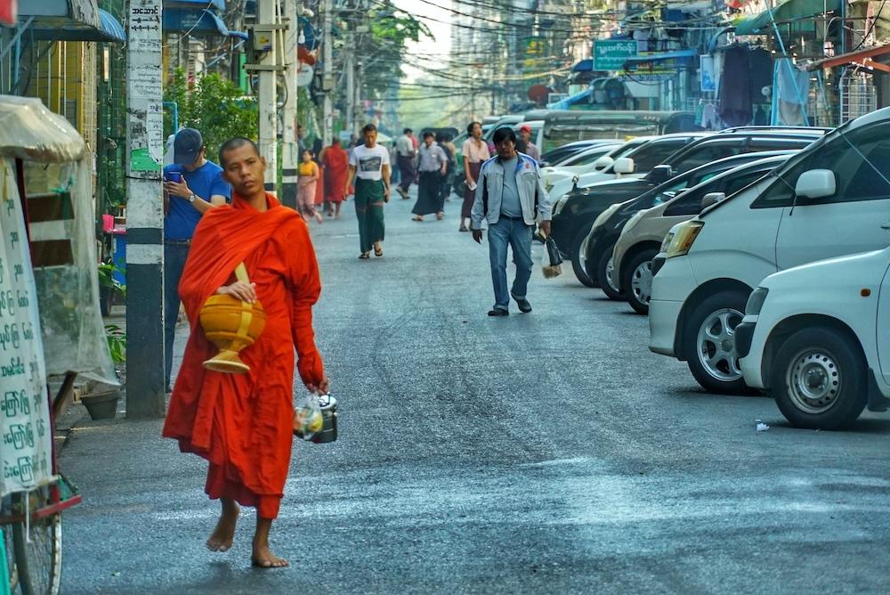 Beten für Myanmar