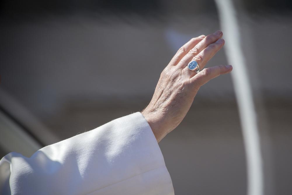 Der Papst kommt