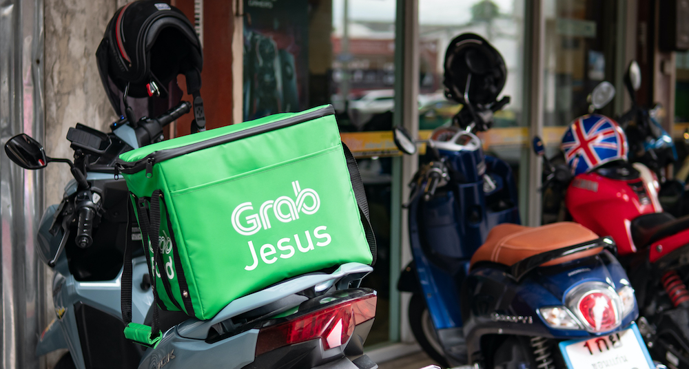 Grab Jesus